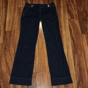 "Ann Taylor Loft size 0 trouser jeans 👖 31"" inseam"
